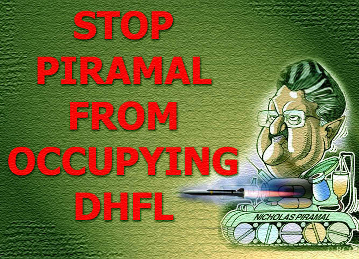 STOP PIRAMAL FROM OCCUPYING DHFL: ONLINE SELFIE CAMPAIGN